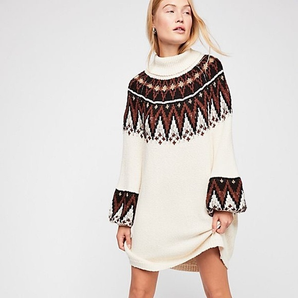 Free People Dresses & Skirts - FP Scotland Sweater Dress
